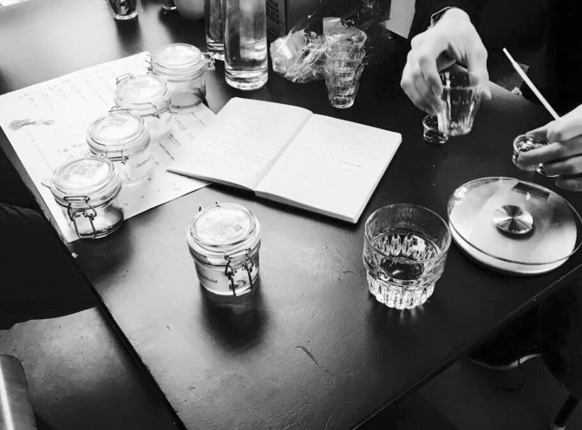 Mossel en Gin